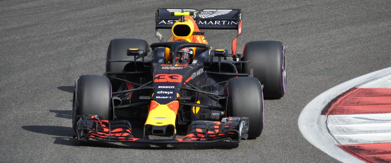 Max Verstappen in Red Bull