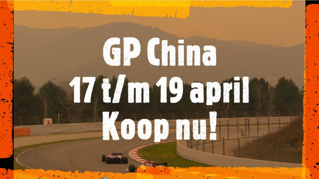 Formule 1 tickets China