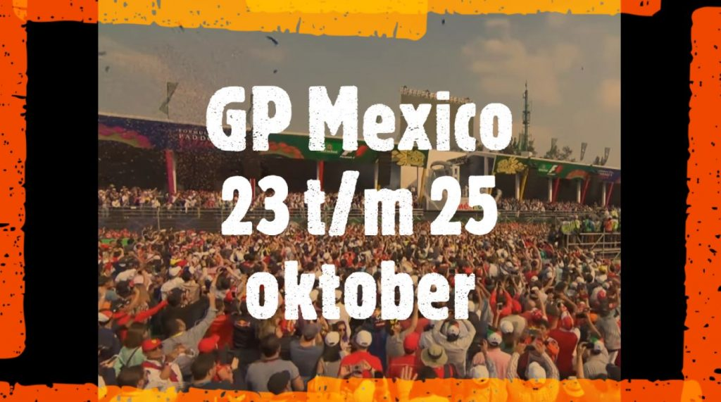 Formule 1 tickets Mexico