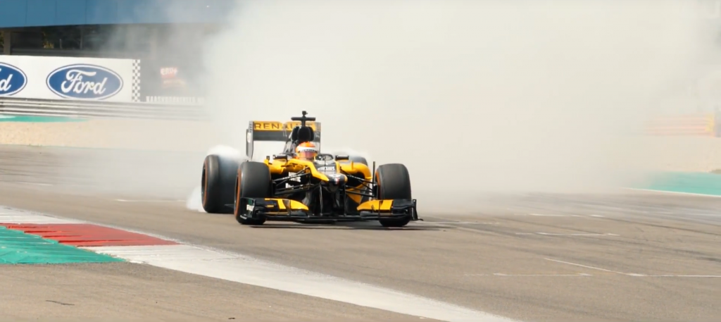 Gamma Racing Day Renault Formule 1